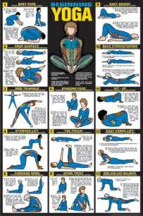 Beginner Yoga Routine Chart » Home Design 2017