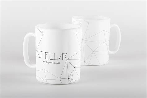 mug design free download original mockups mug mockup 03 glassware pinterest