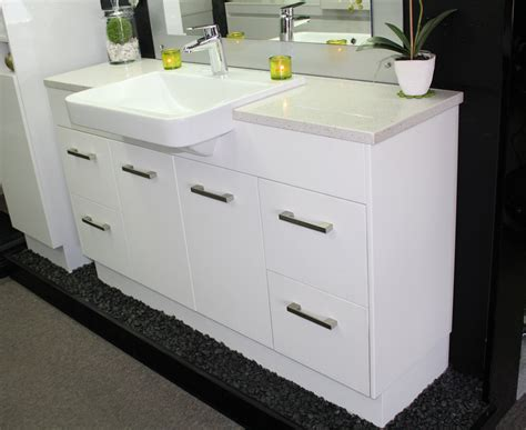 Semi Recessed Vanity Basins by Custom Vanity Unit 1500mm Top Semi Recessed Basin