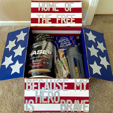 gift ideas for soldiers 4th of july themed care package for gifts for