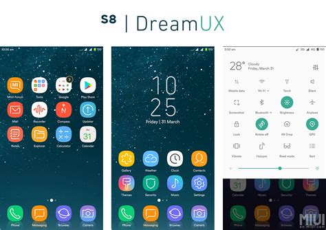 mtz themes free fix update 1 8 1 mtz s8 dreamux the dream for s8