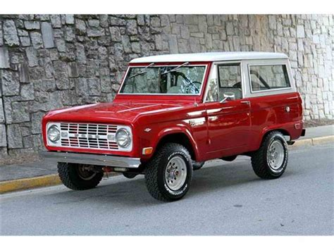 1968 Ford Bronco by 1968 Ford Bronco For Sale Classiccars Cc 912133
