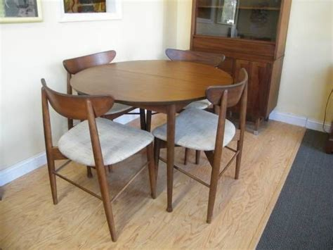 stanley dining room set mid century stanley dinning set mcm mix dining room