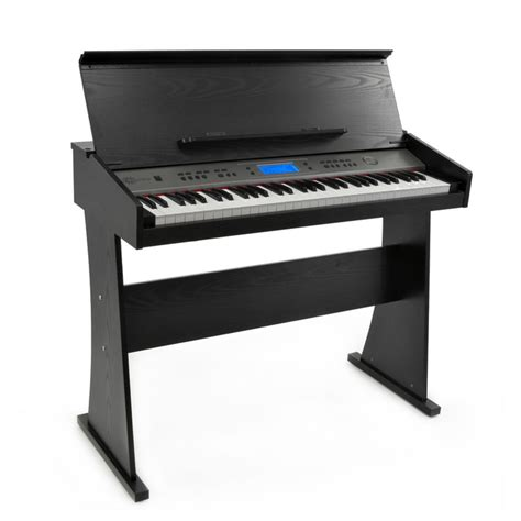 Keyboard Table For by Disc Ak 818 Keyboard With Stand By Gear4music Black At