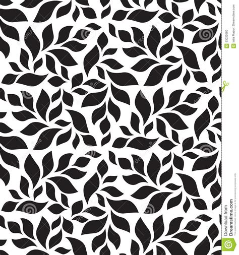 floral pattern repeat vector vector geometric seamless pattern modern floral leaves