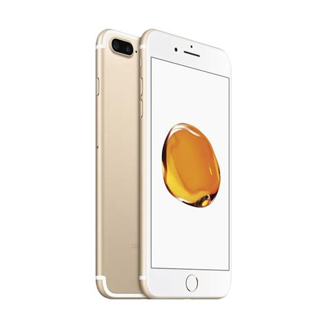 jual apple iphone 7 plus 256 gb smartphone gold