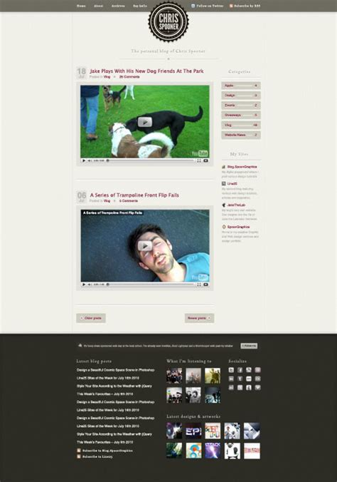 wordpress blog layout css coding a stylish blog design layout in html css