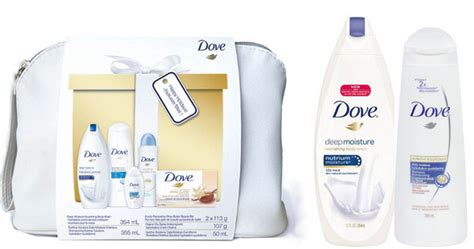 Dove Gift Pouch dove daily moisture 5 gift pack 10 well ca expired
