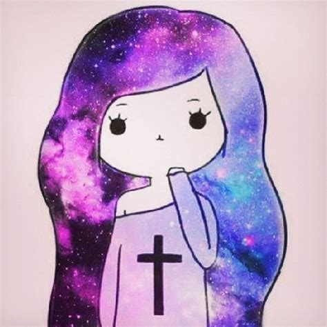 imagenes kawaii galaxia youniverse hipster pinterest ni 241 as kawaii galaxias