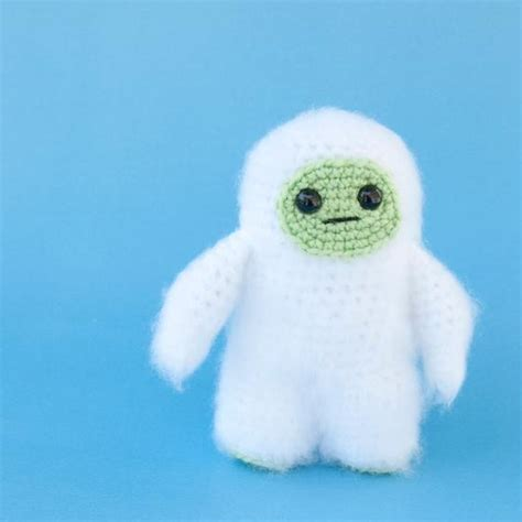 pattern blue yeti amigurumi crochet yeti knitting patterns and crochet
