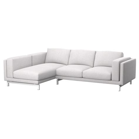 fodera divano nockeby fodera divano 2 posti con chaise longue sinistro