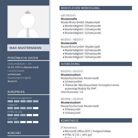Tabellarischer Lebenslauf Cv Professional Cv Cv Resume Template And Resume Templates On