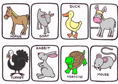 imagenes de animales en ingles y español quot el mundo de los animales en ingles quot aprendemos los