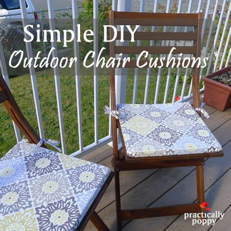 Patio Cushions Diy 25 Best Ideas About Chair Cushions On Kitchen