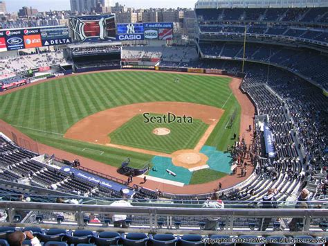 yankees legends seats price yankee stadium section 421 new york yankees