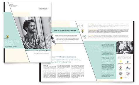 Venture Capital Template venture capital firm brochure template design
