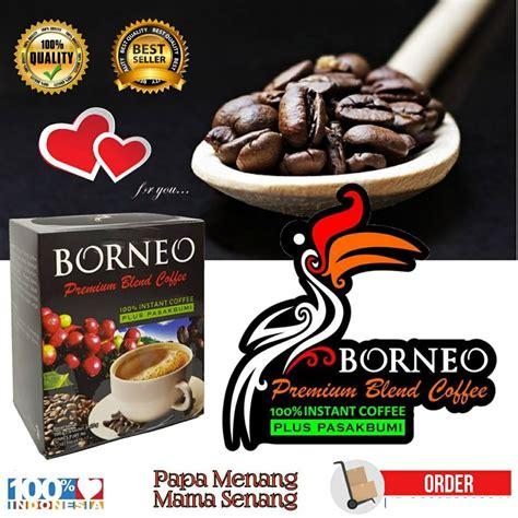 Kopi Borneo Kopi Stamina Pria kopi borneo premium blend coffe kemasan baru kopi borneo