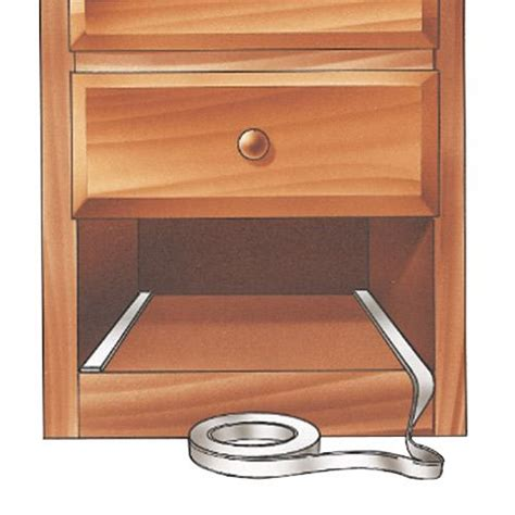 Lubricating Wooden Drawers by Nylo Friction Free Drawer Slide Choose Thickness