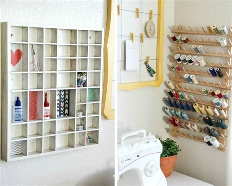 Diy Sewing Room Ideas by Diy Sewing Room Storage Ideas