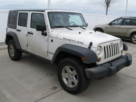2007 Jeep Wrangler Weight 2007 Jeep Wrangler Unlimited Rubicon 4x4 Data Info And