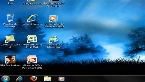 barra de herramientas superior windows 7 como mover la barra de tareas en windows 7