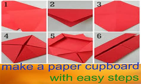 How Ro Make A Paper - how to make a paper fold item make a origami paper
