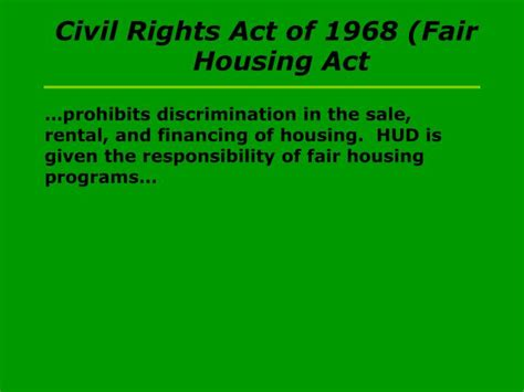fair housing act of 1968 ppt 2004 national african american history month powerpoint presentation id 5736786