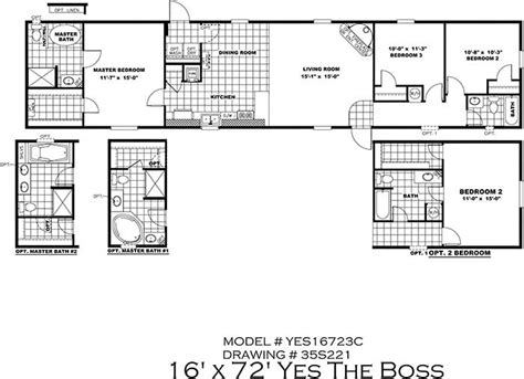 home floor plans sle clayton yes series mobile homes 1st choice home centers
