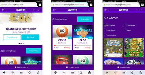 sky app android sky bingo mobile app for android devices bingo apps
