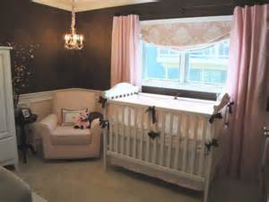 brown and pink nursery brown and pink sophisticated nursery design dazzle