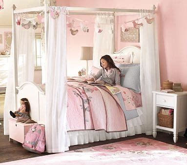 bedroom kandi catalog pottery barn kids princess bed kinley s room pinterest