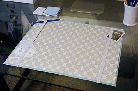 Diy Desk Blotter For The Office Pinterest Diy Desk Blotter