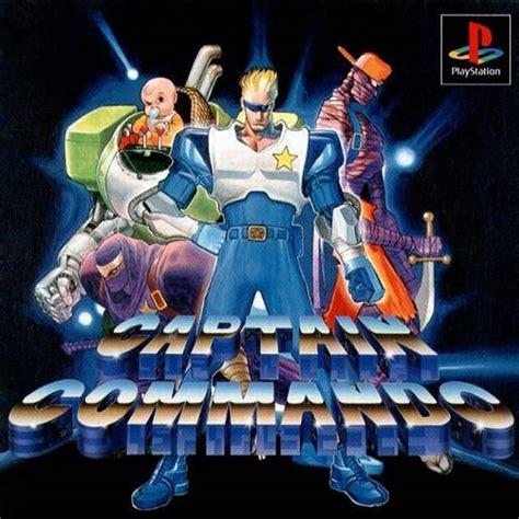 captain commando captain commando box for playstation gamefaqs
