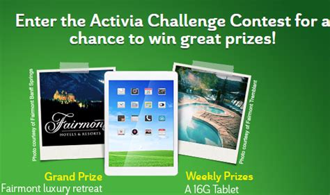 activa challenge activia challenge contest is on savings for