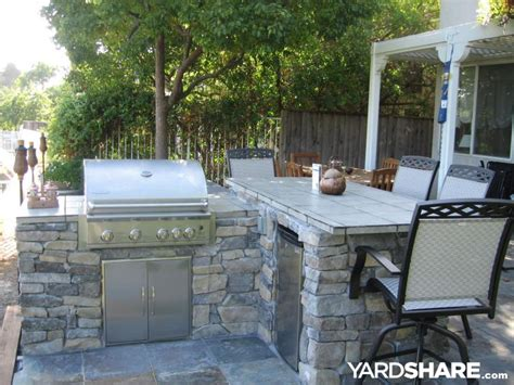 Backyard Bbq Bar Landscaping Ideas Gt Bbq Bar With A View Yardshare