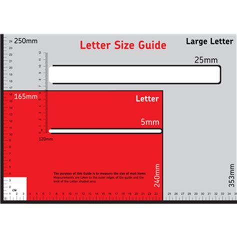 letter size mail dimensional standards template cheap pyjamas deals in store sale hotukdeals