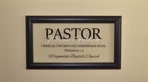 pastor gift pastor appreciation wall decor minister gift
