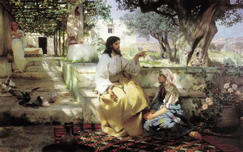 martha s house christ in the house of martha and mary henryk siemiradzki wikiart org