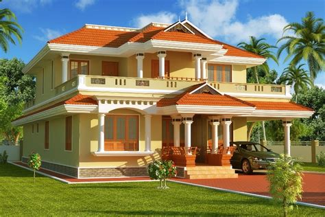 South Indian Home Decor by Exterior Paint Color Combinations For Indian Houses With