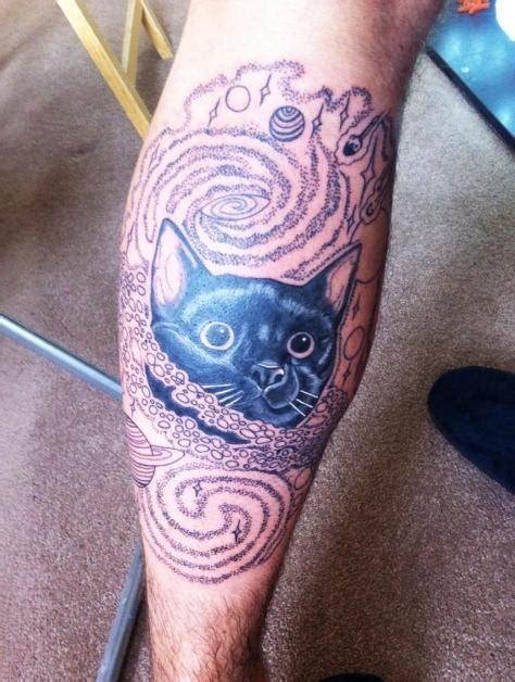 tattoo shadow cat cat tattoo ideas