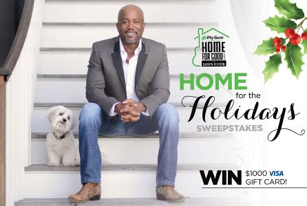 Home For The Holidays Sweepstakes - ply gem home for the holidays sweepstakes win gift card