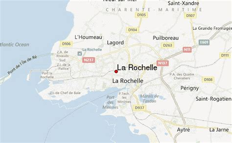 map of la rochelle la rochelle location guide
