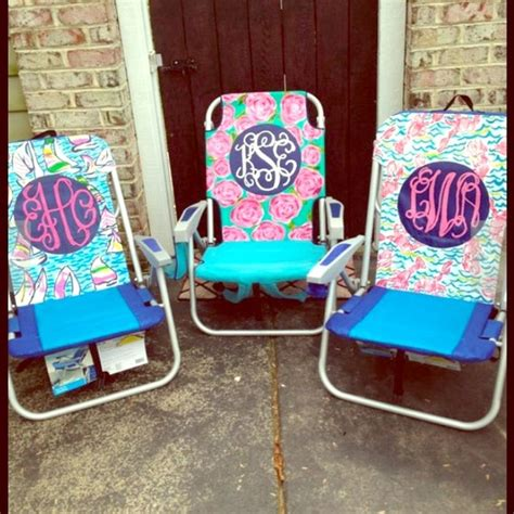 Monogram Chair by 20 Other Monogrammed Lilly Pulitzer Chair