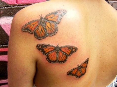 triplet tattoo 50 and more butterfly tattoos with meanings fmag