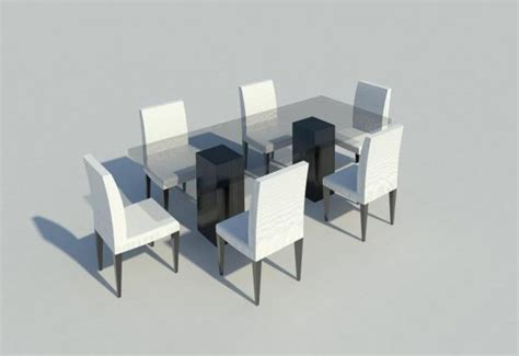 Dining Room Furniture Revit Revitcity Object Dinning Room Table And Chairs