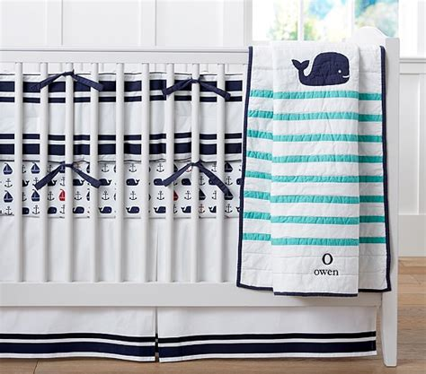 whale nursery bedding htons whale nursery bedding pottery barn kids