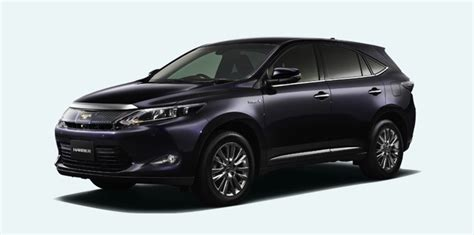 Toyota Japan Harrier Toyota Harrier Japan Only Suv Hints At Future Lexus Rx