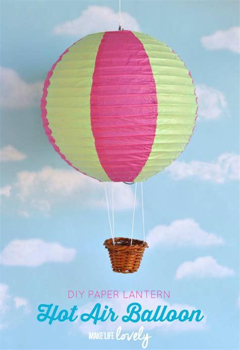 paper lantern air balloon diy 40 sweet and diy nursery decor design ideas