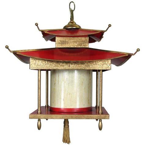 Pagoda Pendant Light Large Pagoda Lantern At 1stdibs