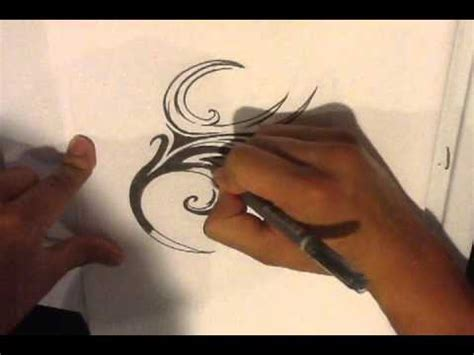 create your own tribal tattoo how to draw a make your own tribal